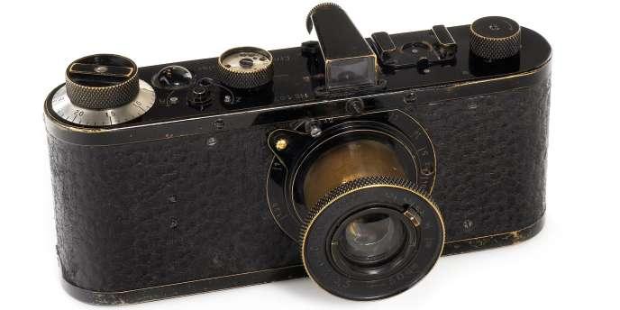 L'appareil Leica de 1923 vendu chez Westlicht à Vienne, le 28 mai 2011.