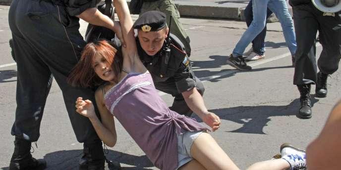 A Moscou, le 28 mai 2011, lors d'une