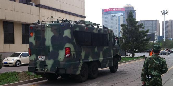Des forces paramilitaires ont été déployées à Houhehot, la capitale de la Mongolie-Intérieure.