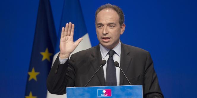Jean-François Copé au Parc des expositions à Paris, le 28 mai 2011.