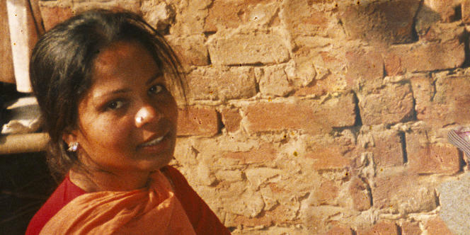 Asia Bibi, condamnée à mort au Pakistan pour avoir bu de l'eau dans un puits.