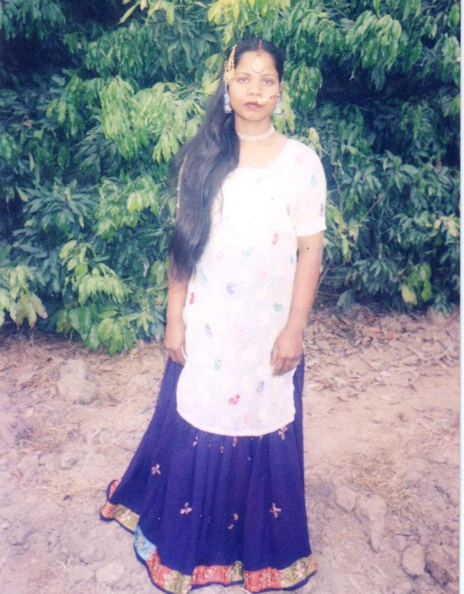 Photographie personnelle non-datée d'Asia Bibi, avant son arrestation par les autorités pakistanaises.