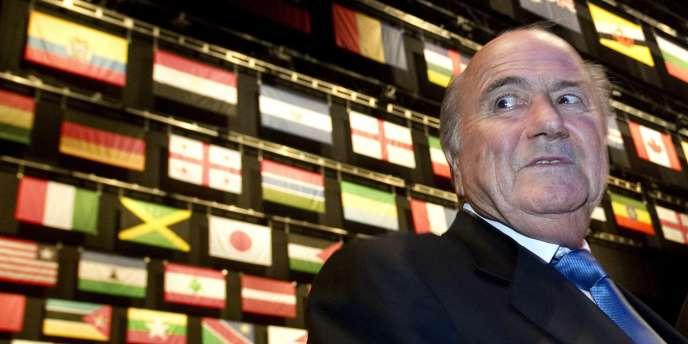 Sepp Blatter à Zurich le 31 mai.