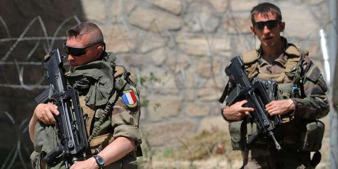 Des soldats de l'armée française, à Kaboul, en 2011.