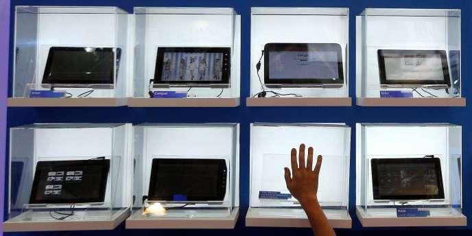 Des tablettes au salon Computex de Taipei