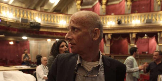 Le metteur en scène suisse Luc Bondy à Vienne, le 25 mai 2011.