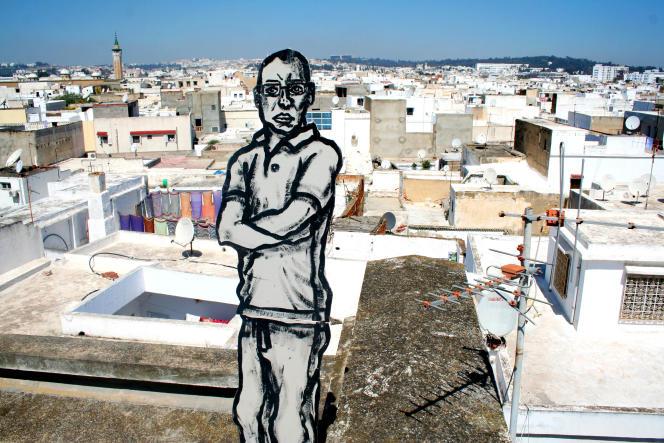 A Tunis, Bilal Berreni a peint le portrait de