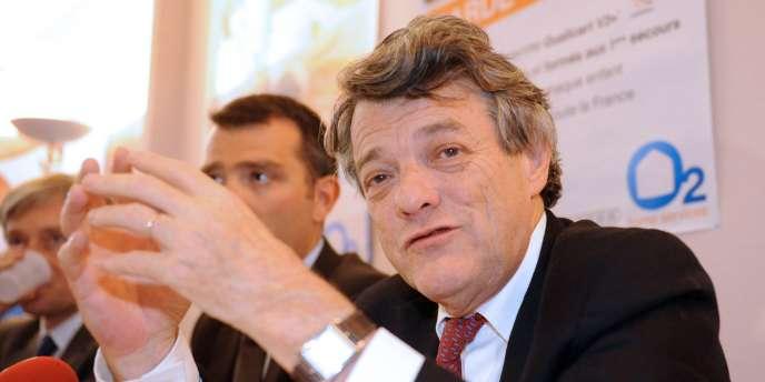 Jean-Louis Borloo s'est converti au mois d'août à l'idée d'une taxe sur les transactions financières.
