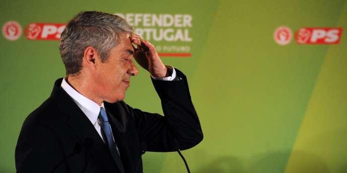 Le premier ministre socialiste, José Socrates, le 5 juin 2011.