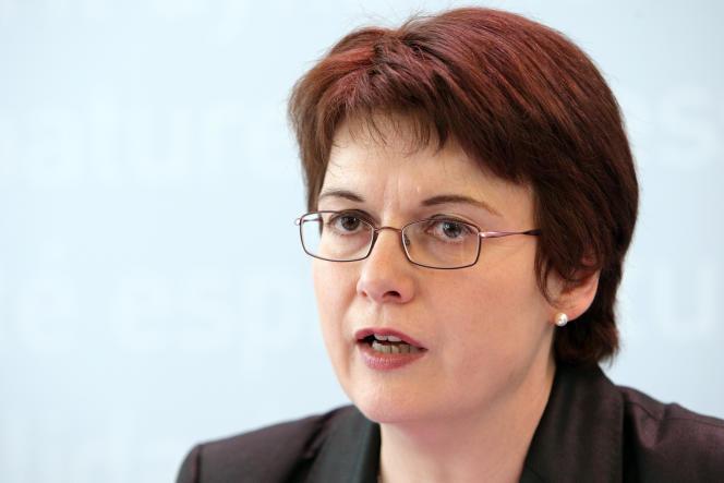 La directrice générale de l'Institut de veille sanitaire (InVS), Françoise Weber.