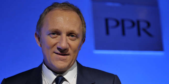 François-Henri Pinault, le PDG du groupe PPR.