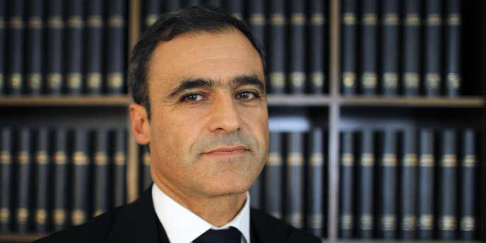 L'avocat Pascal Wilhelm à Paris, le 22 septembre 2010.
