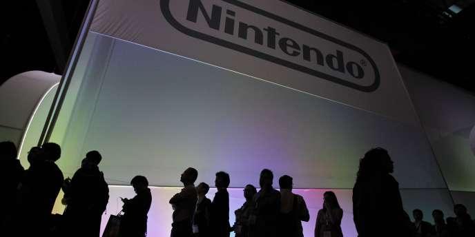 Le stand de Nintendo, au salon de l'E3 de Los Angeles.
