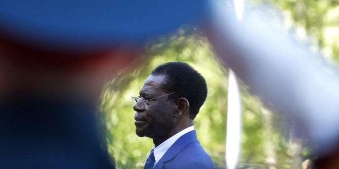 Teodoro Obiang Nguema, président de la Guinée équatoriale.