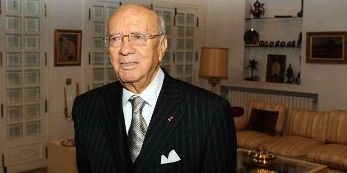 Le premier ministre tunisien, Béji Caïd Essebsi, à Tunis, mardi 1er mars.