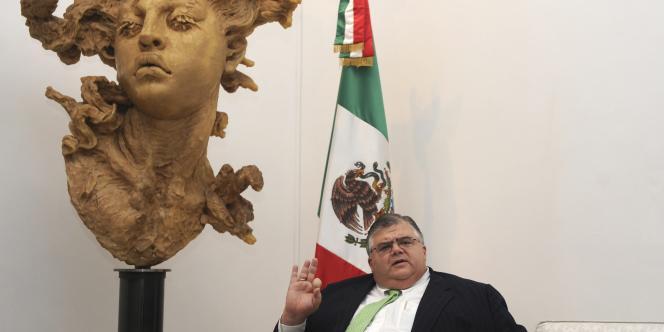 Agustin Carstens, gouverneur de la Banque centrale du Mexique et candidat à la direction du FMI.