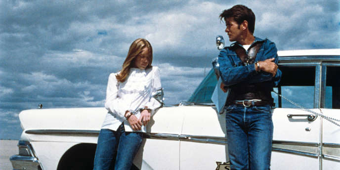 Sissy Spacek et Martin Sheen dans le film américain de Terrence Malick,