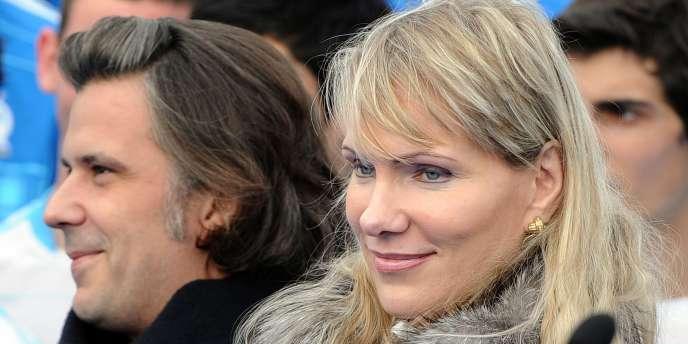 Margarita Louis-Dreyfus, le 28 janvier au stade Vélodrome à Marseille.
