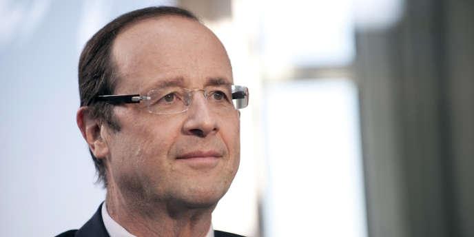François Hollande, le 1er juin 2011, à Paris.