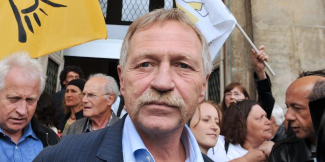 José Bové, le 15 août 2008.