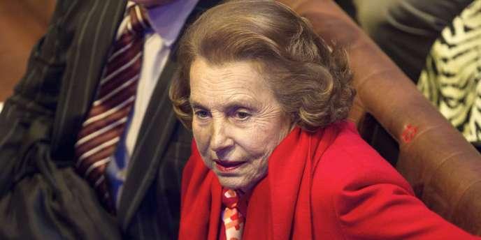 Liliane Bettencourt, le 18 octobre 2010.