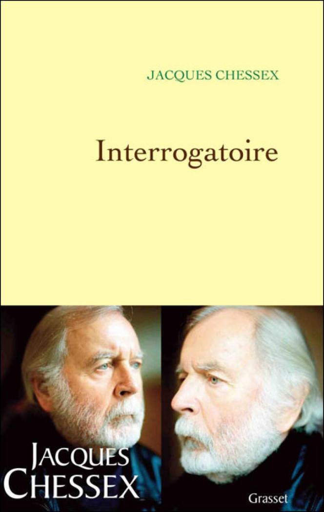 Couverture de l'ouvrage de Jacques Chessex