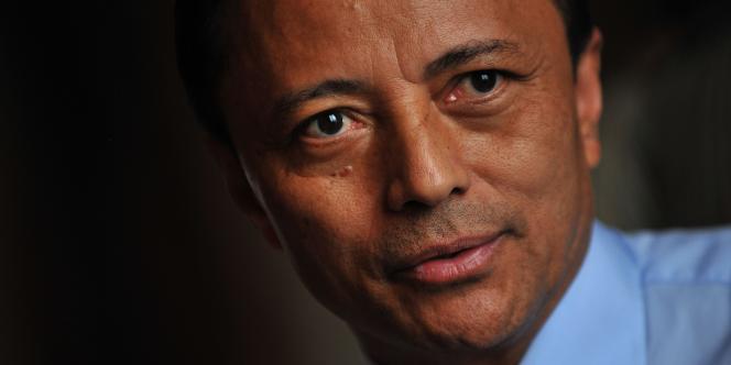 Le président déchu de Madagascar, Marc Ravalomanana, le 9 octobre 2009.
