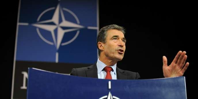 Le secrétaire général de l'OTAN, Anders Fogh Rasmussen.