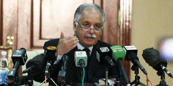 L'ancien premier ministre libyen Baghdadi Al-Mahmoudi, à Tripoli, le 16 juin 2011.
