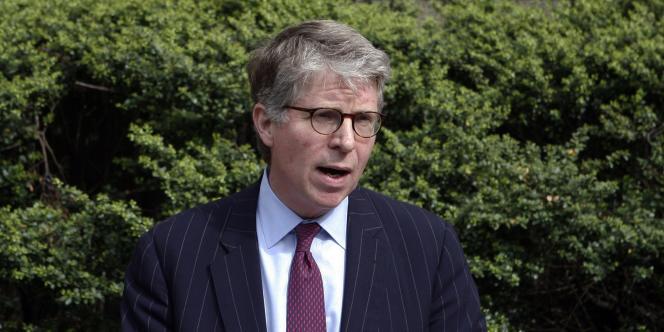 Le procureur de New York, Cyrus Vance Jr.