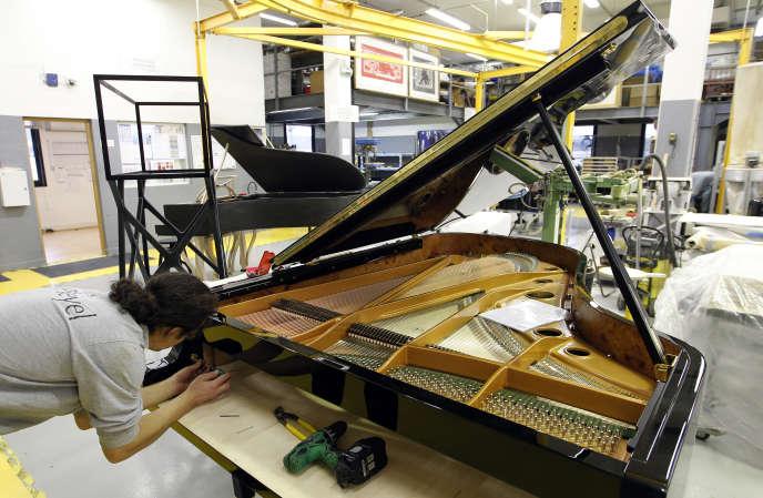Les pianos standard ont été arrêtés, pour tout miser sur des instruments haut-de-gamme.