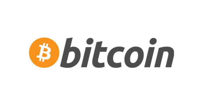 Le logo de la monnaie virtuelle bitcoin.