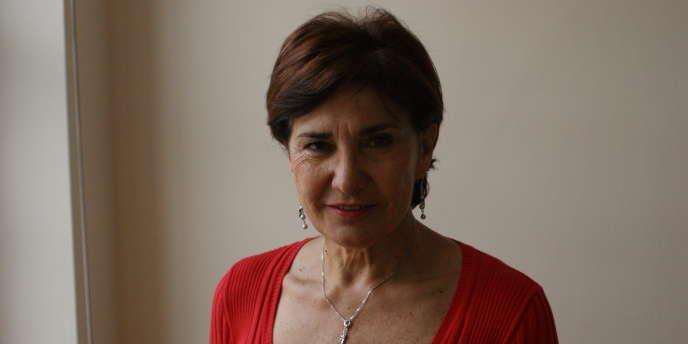 Michèle Mouton, en juin à Paris.