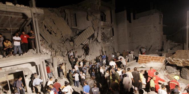 Dans le quartier d'Al-Arada, le 19 juin.