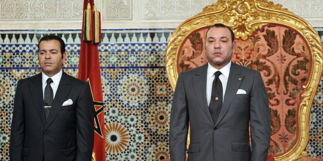 Mohammed VI, à Rabat, le 17 juin.