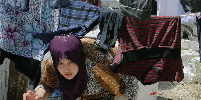 Près de 10 000 Syriens ont trouvé refuge en Turquie.