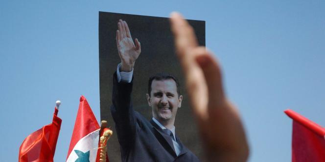 Lundi 1er août, Bachar Al-Assad a félicité l'armée