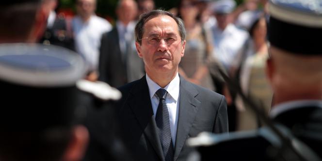 Le ministre de l'intérieur, Claude Guéant.