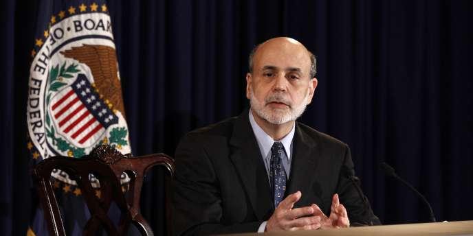 Le patron de la Fed, Ben Bernanke, en juin 2011.
