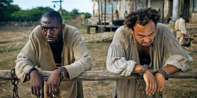 Thomas Ngijol et Fabrice Eboué dans le film français de Thomas Ngijol, Fabrice Eboué et Lionel Steketee,