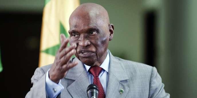 Le président sénégalais Aboulaye Wade, en visite en Libye, le 9 juin 2011.