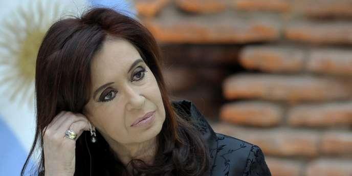 La présidente argentine Cristina Kirchner.