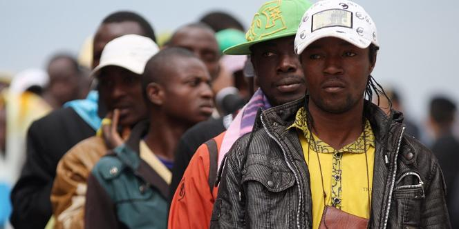 La plupart des nouveaux arrivants viennent de l'Afrique sub-saharienne, et fuient souvent la guerre en Libye - ici, le 4 mai 2011 à Lampedusa.