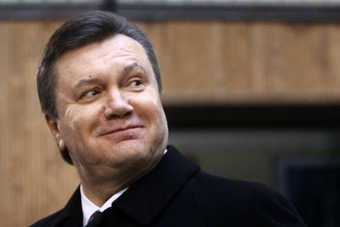 Le président ukrainien Viktor Ianoukovitch, en février 2010 à Kiev.