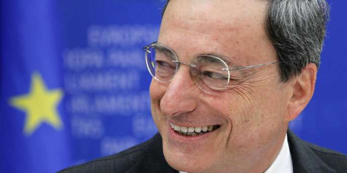 Le nouveau président de la BCE, Mario Draghi, à Bruxelles, le 14 juin 2011.