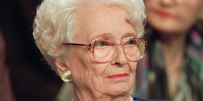 Christiane Desroches-Noblecourt, le 14 octobre 1992 à Paris.