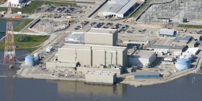 La centrale nucléaire de Cooper au bord du Missouri, dans le Nebraska.
