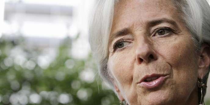 Christine Lagarde, le 23 juin à Washington.