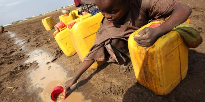 Les pays de la Corne de l'Afrique, comme ici en Somalie, sont durement touchés par la sécheresse.