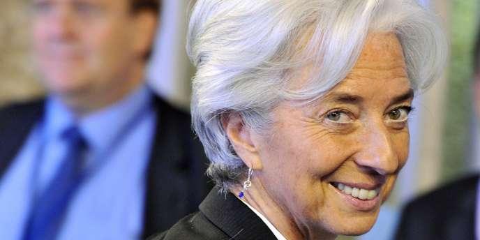 Christine Lagarde, le 20 juin au Luxembourg, pour une réunion de l'Eurogroupe.